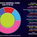 Pie graph of general fund categories