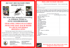 Mosquitochecklistcombined