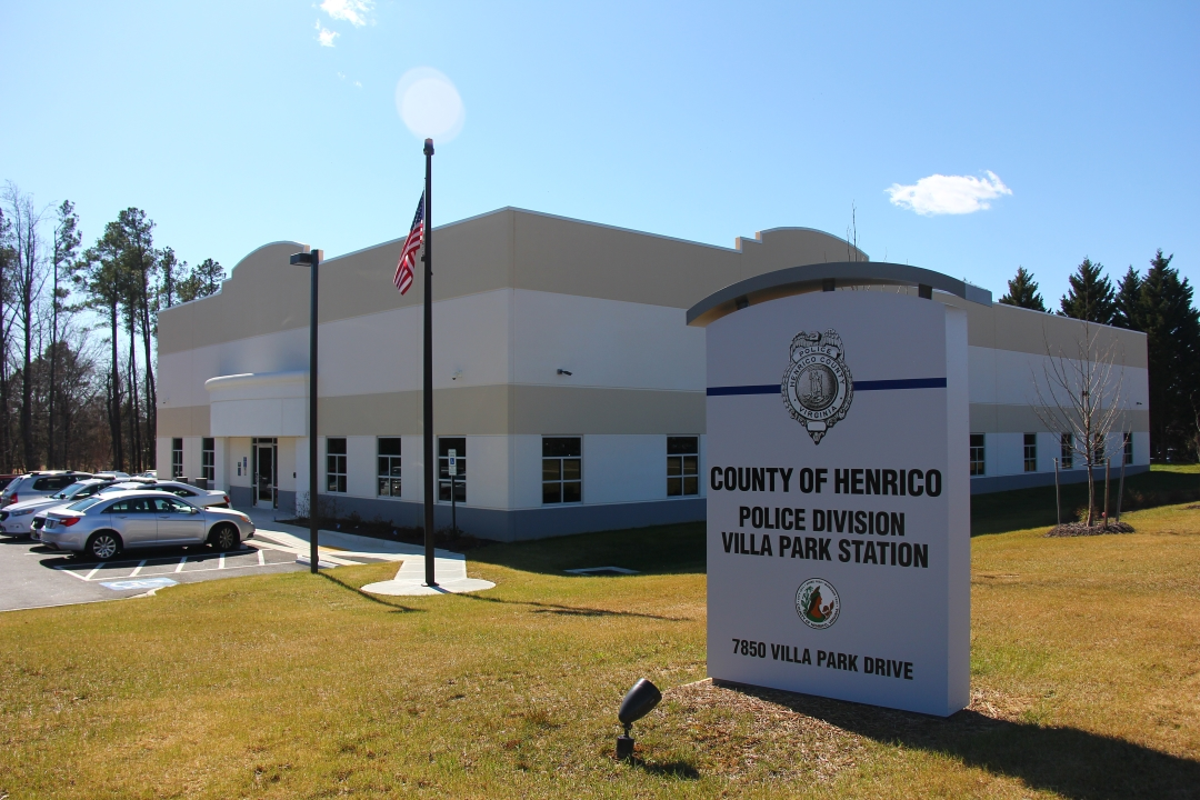 Henrico County Central Police Station