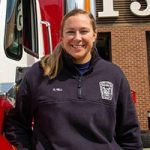 Sarah Hill, Henrico County Firefigher
