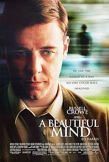 "Movie poster for ""A Beautiful Mind"""