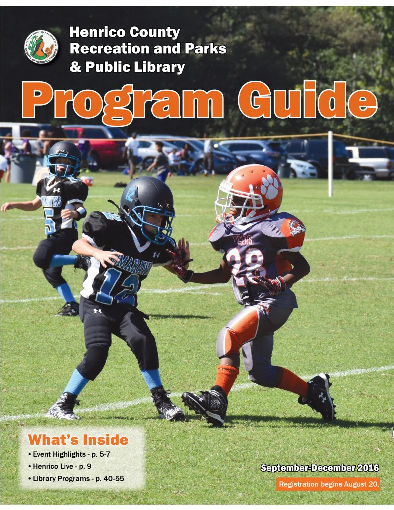 photo of Fall 2016 Program Guide