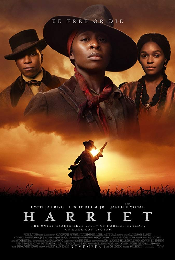 "Movie poster for ""Harriet."""
