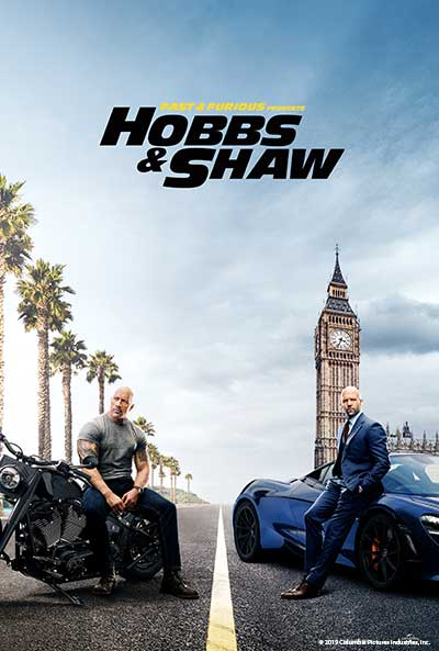 Movie poster for Hobbs & Shaw