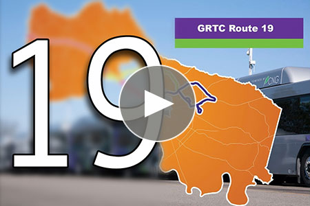 View video on GRTC route 19 West Broad route expansion