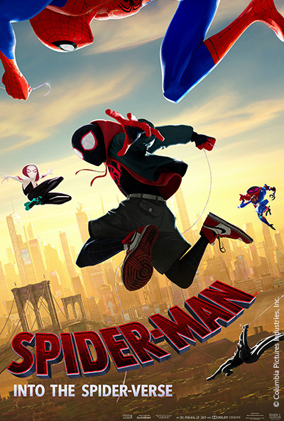 Spider-Man: Into the Spider-Verse movie poster
