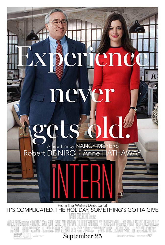 "Movie poster for ""The Intern."""