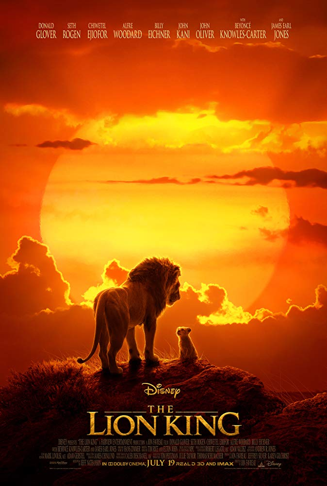 "Movie poster for ""The Lion King"" (2019)"