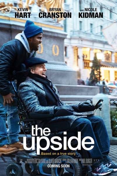 "Movie poster for ""The Upside"""