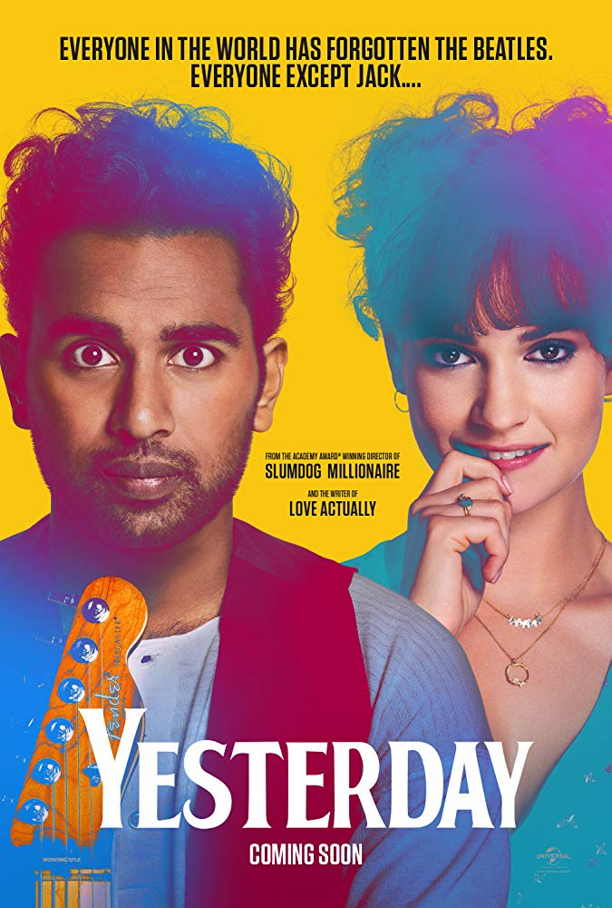 "Movie poster for ""Yesterday"" (2019)"